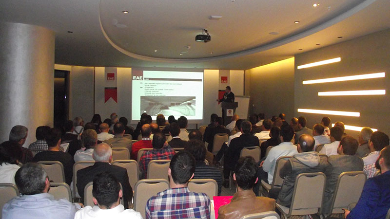 EAE Technological innovations Seminar has been held in Antalya