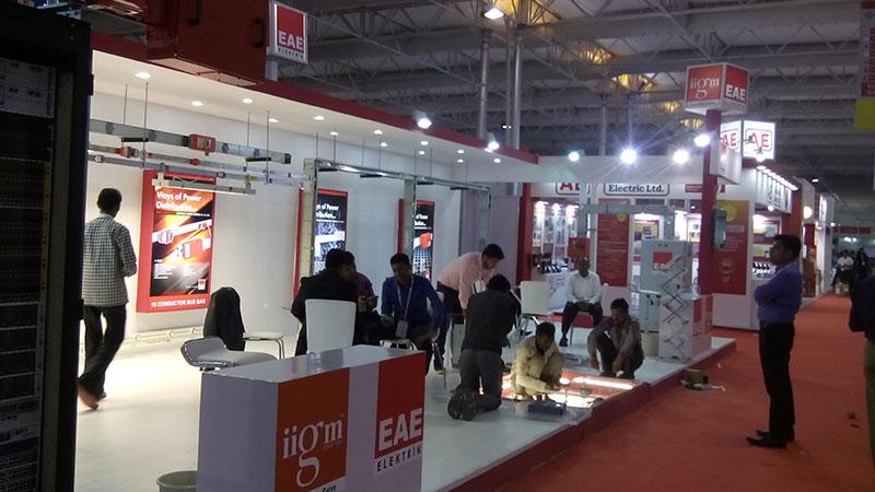EAE Elektrik attended Elecrama-2016.