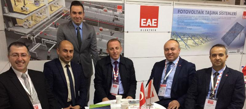EAE Elektrik, EIF Enerji Kongresinde...