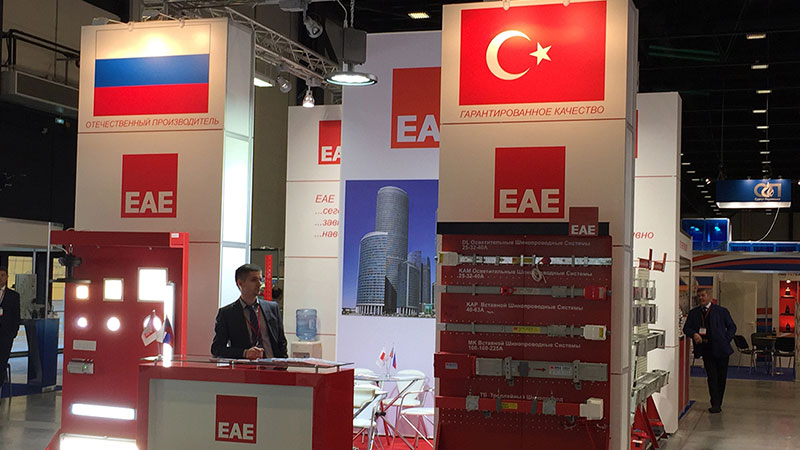 EAE Electric is at the St. Petersburg Energy and Electrotechnics Fair...