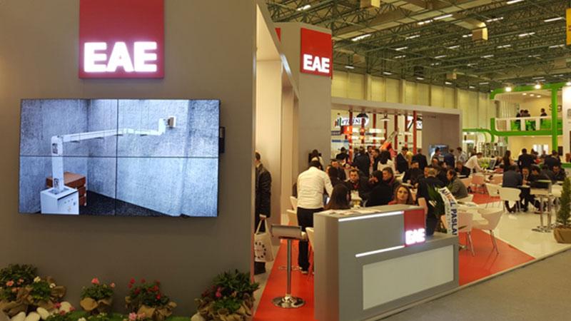 EAE Grup Win Fuarında...