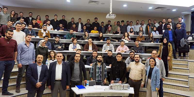 EAE в Университете Хасана Калёнджу, Турция.