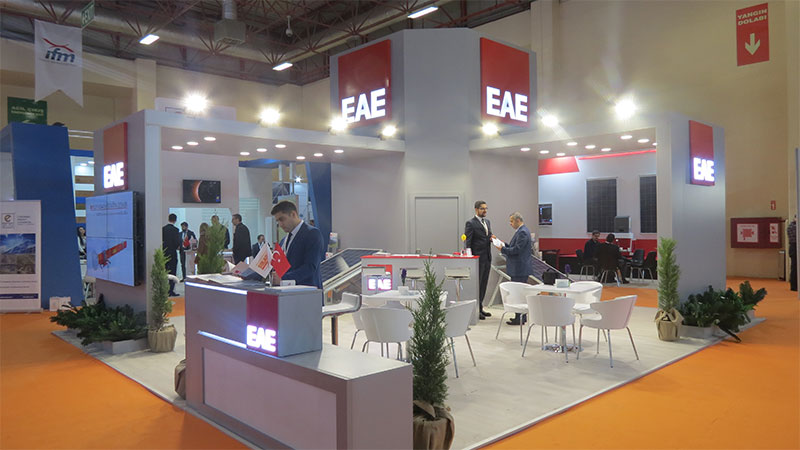 EAE Solarex Fuarındaydı!