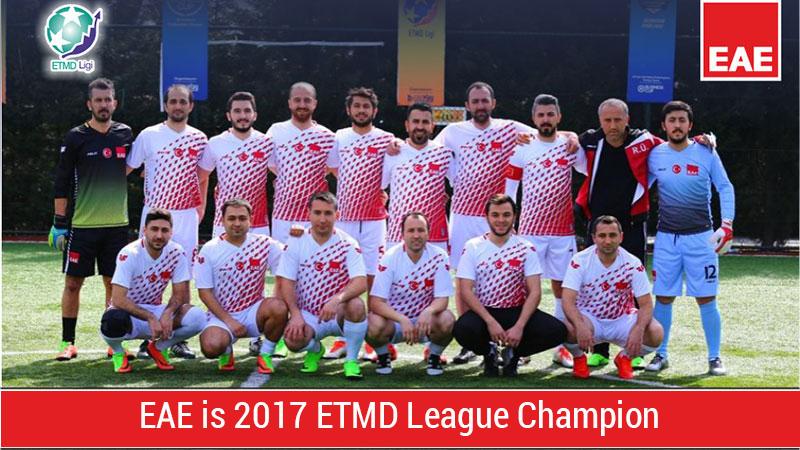 EAE ETMD League Champion