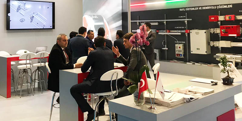 Eurasia Rail Messe- 2019