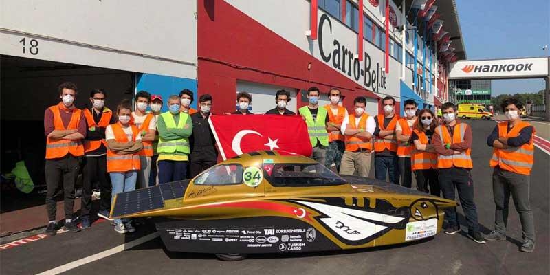 İTÜ Güneş Arabası ESC 2020 Yarışından Ödülle Döndü...