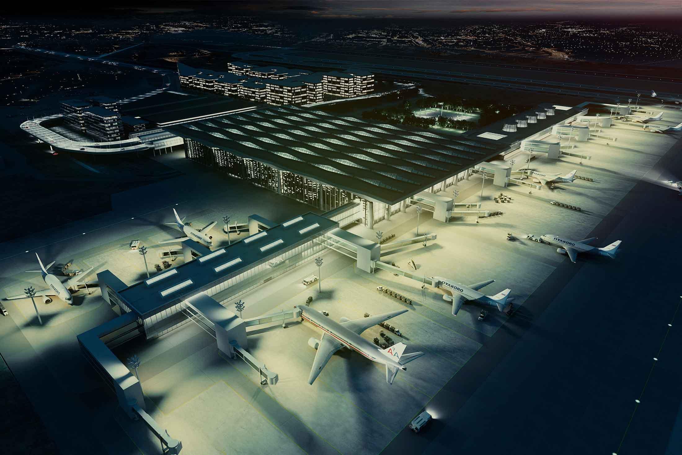 PULKOVO AIRPORT - (ST.PETERSBURG)