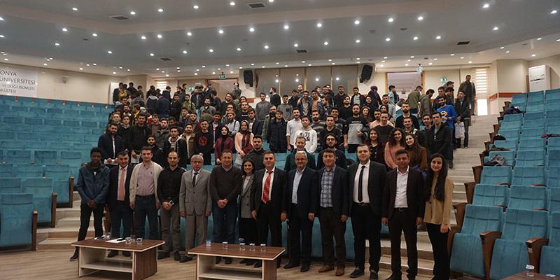 We were at Konya Technical University and Karatay University (KTO) of Konya, Turkey
